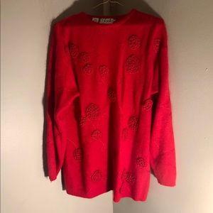 Angora lambswool sweater